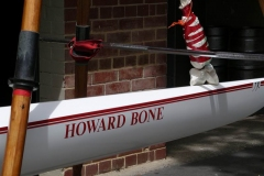 2005 Opening Day and Christening the Howard Bone