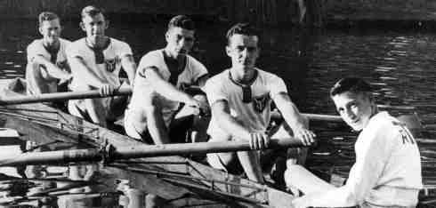 Junior Men's 4+ around 1940-1950