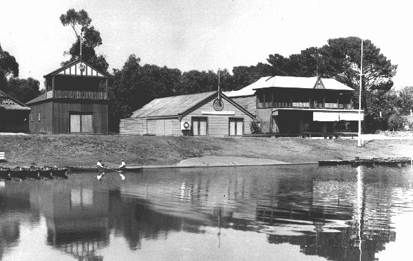 Old TRC boat-shed. Condemned and demolished in 1931