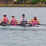 Composite womens eight on West Lakes
